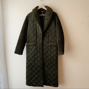 Forever 21 Long Quilted Coat